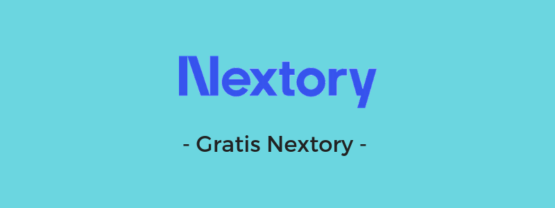 - Gratis Nextory-